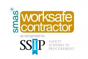 Worksafe contractor Logo Portrait